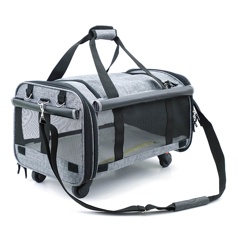 Beasumore Travel-Bag Suitcase Rolling-Luggage Carry On Wheels Backpack Trolley Spinner-Shoulders