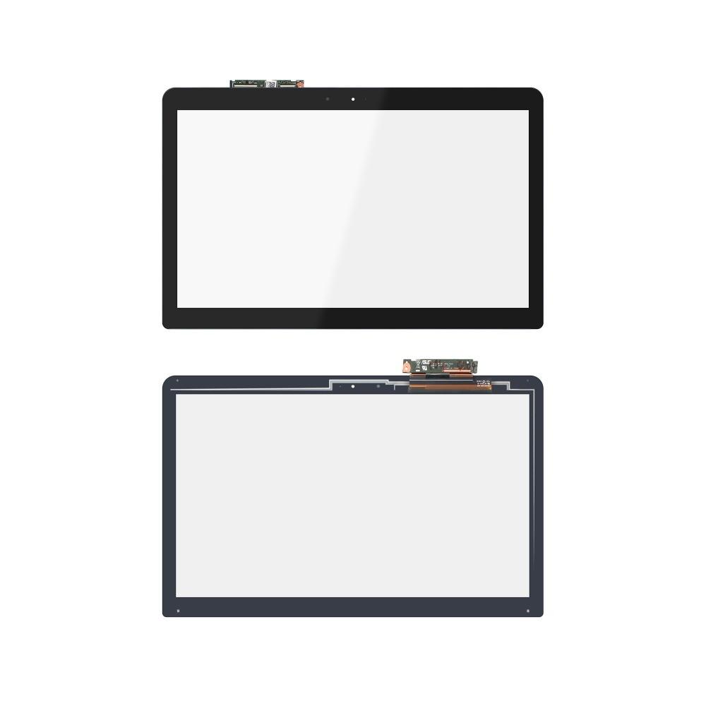 15.6 Touch Screen Digitizer Glass For ASUS Q553 Q553U Q553UB Q553UB-BSI7T13 touch screen digitizer glass for asus vivobook v550 v550c v550ca tcp15f81 v0 4