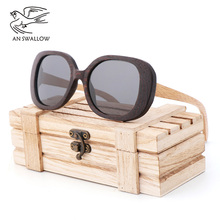 New Green Bamboo and Wood Glasses for Men Womens Fashion Travel Sunglasses Retro Polarized Wooden
