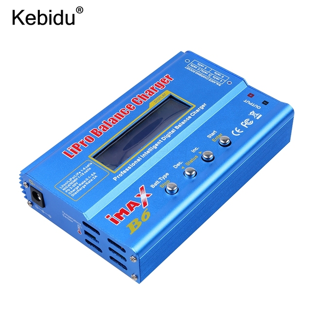Kebidu 100% imax B6 liproニッケル水素リチウムイオンni cd rcバッテリーバランスデジタルチャージャー放電器