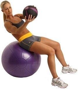 Muscle Driver Rubber Medicine Ball  1