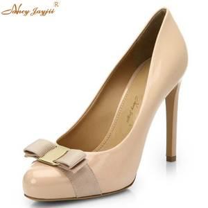 94214169ef9e65 NANCYJAYJII Black Ladies Shoes High Heels Wedding