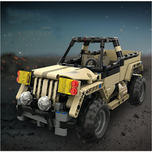 1:18 Remote Control Toy Racing Model 2.4G Wireless DIY Building Blocks Off-Road Truck Childrens Gift