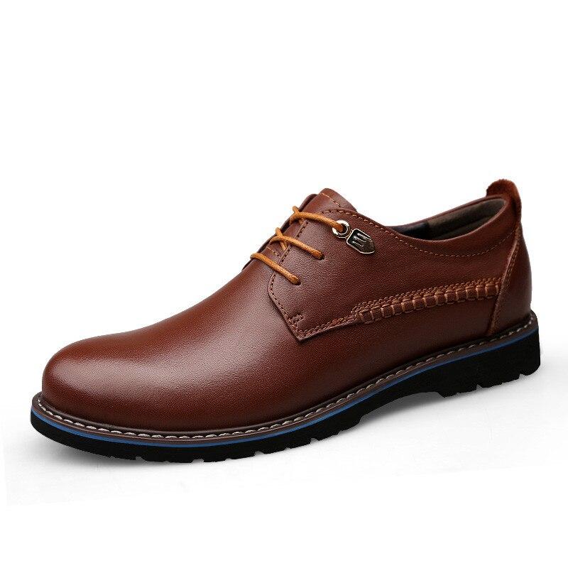 Moda marrom Homens 47 Qualidade 37 Bonito 48 Hombre Preto Zapato Plus Alta Possui De Homem Casual Sapatos Confortável Masculinos qw4ZXU14xn