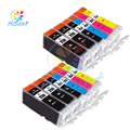12 Pack Compatible Replacement Inkjet Cartridges for Canon PGI250 PGI-250 CLI251 CLI-251 PIXMA IP7220/ MG5420/ MX922/ MG5522