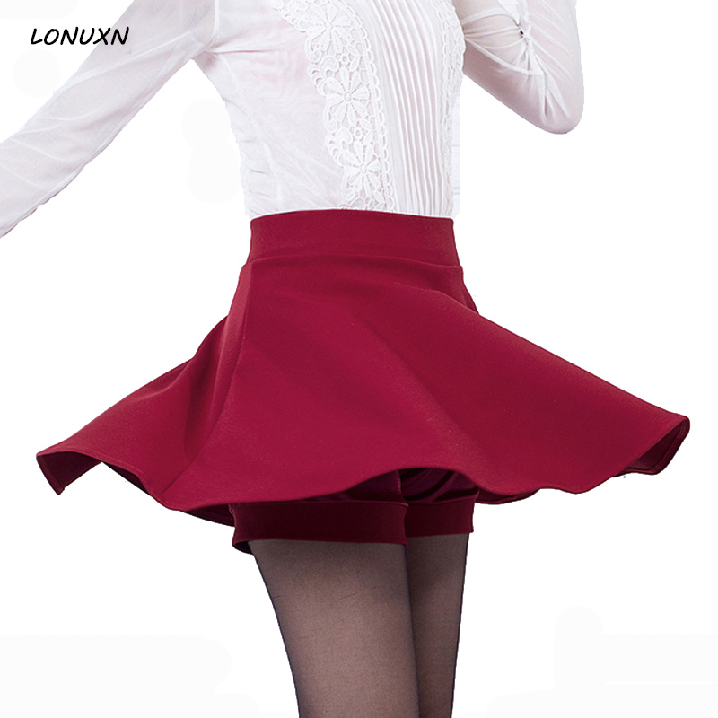 High-quality Korean fashion Autumn winter pleated skirt thickening skirt loose waist Slim anti-light skirt female Puff skirt