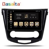 Dasaita 10 2 Android 8 0 Car GPS Radio Player For Nissan Qashqai 2014 2015 With
