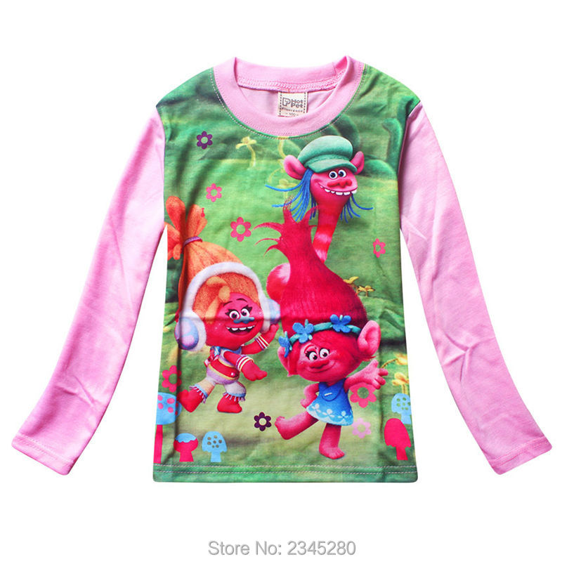 For Girls Clothes Trolls Pyjamas Kids Girl Clothing Sets Christmas Costumes Children Suit For The New Year Sleepwear Teenage 07