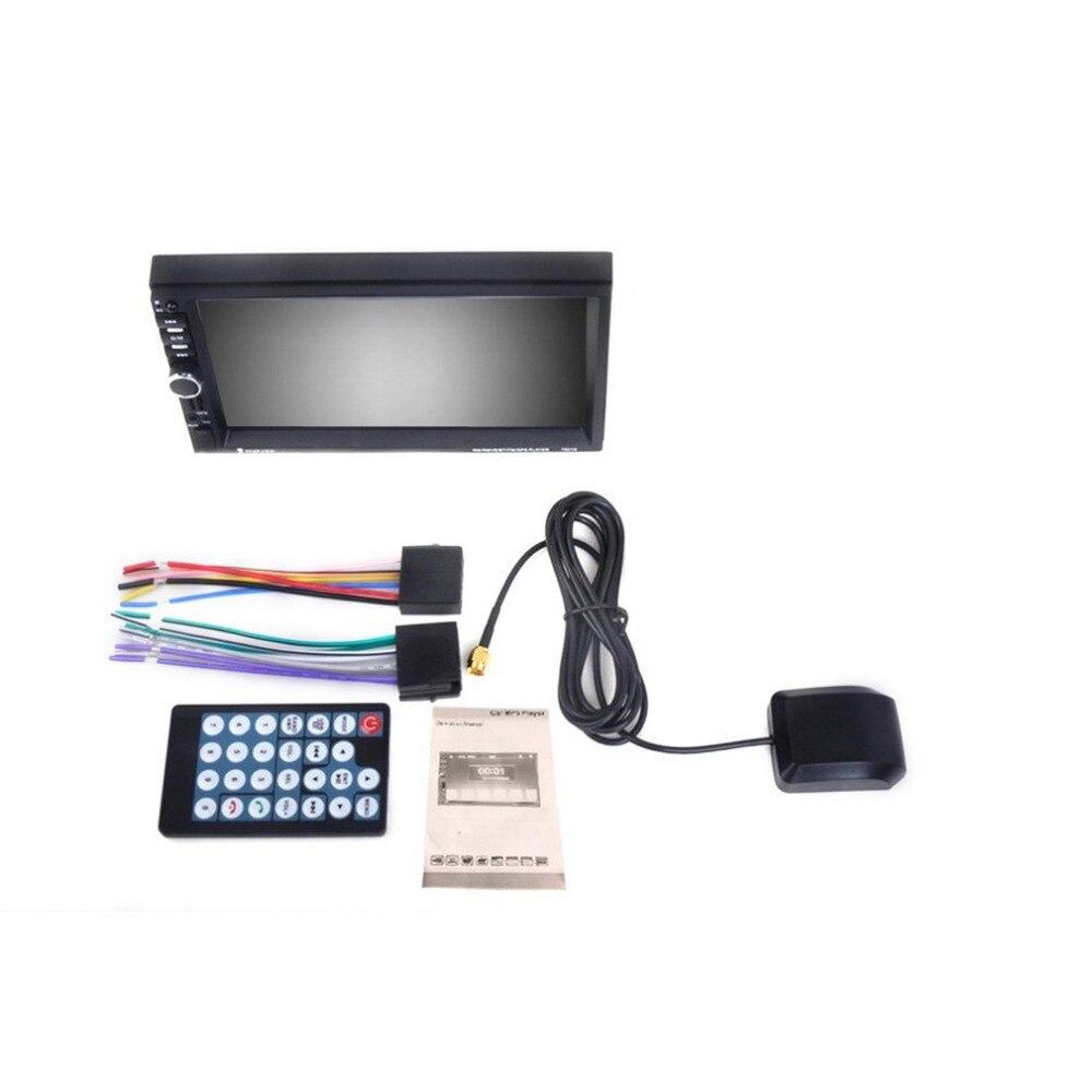 Новейший автомобиль 1080р HD mp5-плеер 800*480 цифровой экран GPS навигация Bluetooth Радио стерео 7 дюймов (не DVD )
