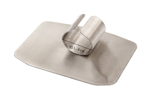 Knife Hand-Protector Finger-Guard Cutting Stainless-Steel Not-To-Hurt-Cut