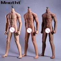 JIAOU DOLL JOK 11C PS 1/6 Male Super Flexible Seamless Body with Metal Skeleton for 12inch Action Figure DIY Toys