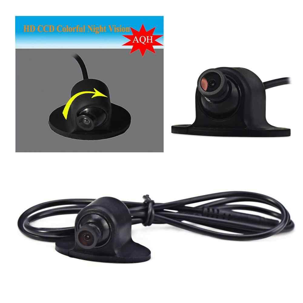 Широкоугольный HD CCD Мини водонепроницаемый для универсального автомобиля резервная камера заднего вида автомобильная парковочная резервная камера заднего вида