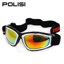 POLISI Men Women Ski Snowboard Skate Goggle UV Protection Anti-Fog Winter Skiing Glasses Motorcycle Motocross Protective Eyewear