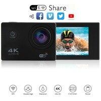 New Arrival Original AKASO S60 Ultra HD 4K Action Camera 30m waterproof 2.0' Screen 1080p sport Camera go extreme pro cam