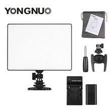 YONGNUO YN 300 YN300 Hava Kamera LED Video Işığı Paneli Kamera 3200 K 5500 K pil şarj cihazı Canon nikon Canlı Akışı