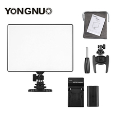 YONGNUO YN 300 YN300 كاميرا الهواء LED لوحة إضاءة الفيديو على الكاميرا 3200 K 5500 K مع شاحن بطارية تيار كانون نيكون لايف