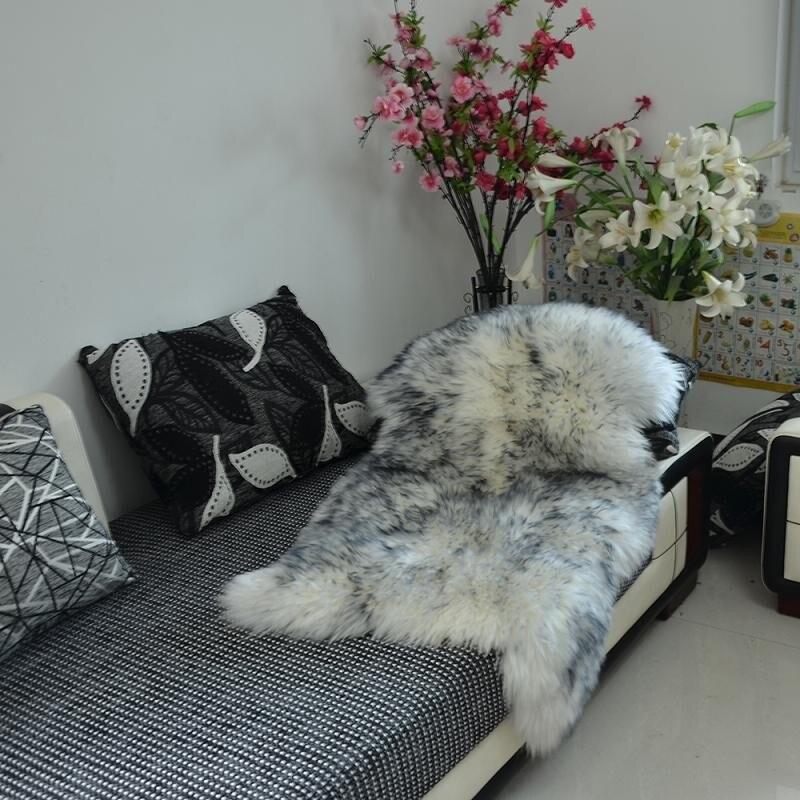 Varmhus Luxury Faux Soft Artificial Sheepskin Lambskin