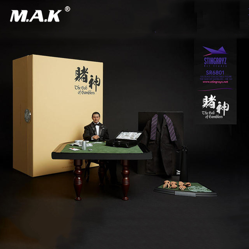 For Collection Fans Gift 1/6 God of Gamblers Gao Jin Chow Yun Fat Little Knife Lau Andy Full Set Action Figure Model Toys