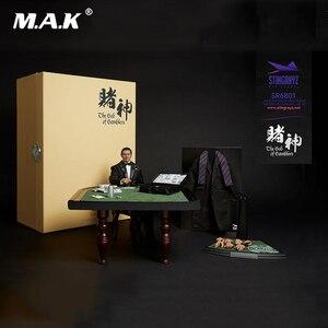 Set completo de figura de acción de God of gamers, Gao Jin Chow Yun Fat Knife Lau Andy, para colección, regalo, 1/6