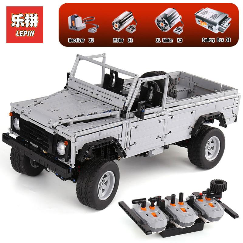 Lepin 23003 serie Technic MOC Contr A Distanza Selvaggio off-road veicoli Blocchi di Costruzione di modello LegoINGlys giocattoli Dei Mattoni per I Bambini