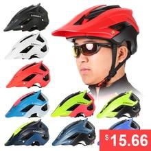 Lixada Mountain Bike Cycling Bicycle Helmet Sports Safety Protective Helmet 13 Vents MTB Cycling Bike Sports Safety Helmet