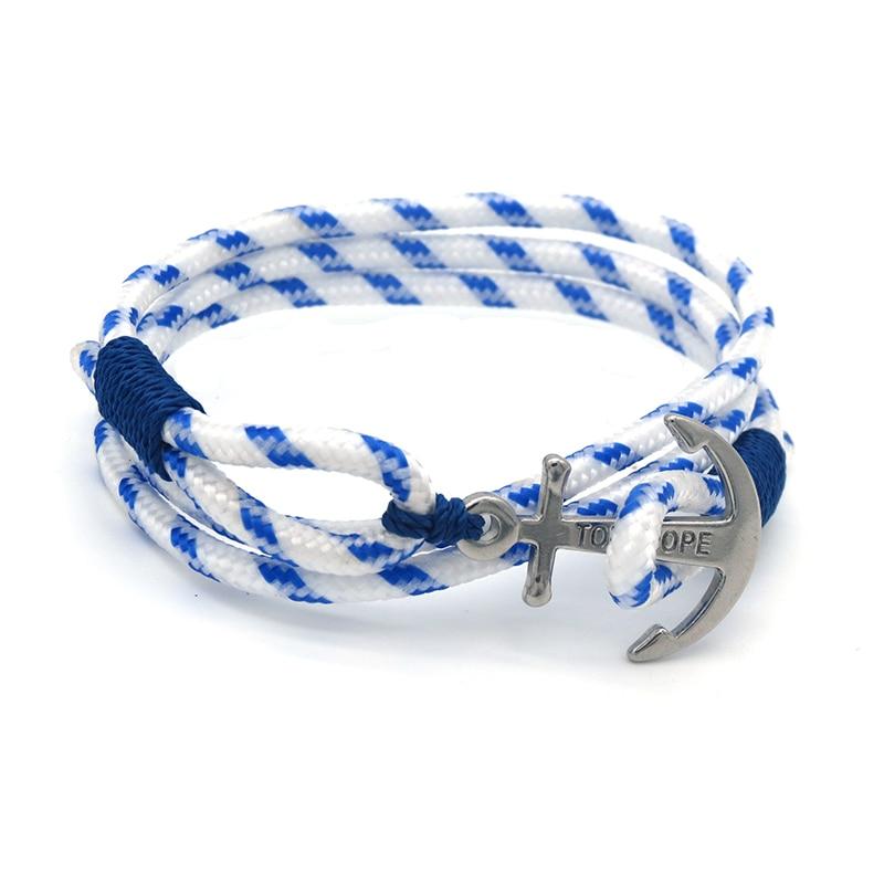 16 Styles Real Take Steel Tom Hope Bracelet with Box Men Navigation Anchor Bracelet Charm Bracelet for Women Eid Mubarak Gift