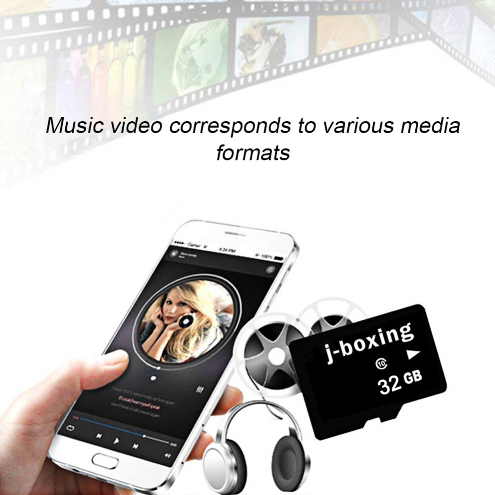 Image 5 - J boxing 5PCS Micro SD Card 8G 16G 32G Flash Memory Card 64GB 128GB TF Micro SD Class 10 for Smartphone/Tablet PC/GPS/Camera/MP4-in Micro SD Cards from Computer & Office