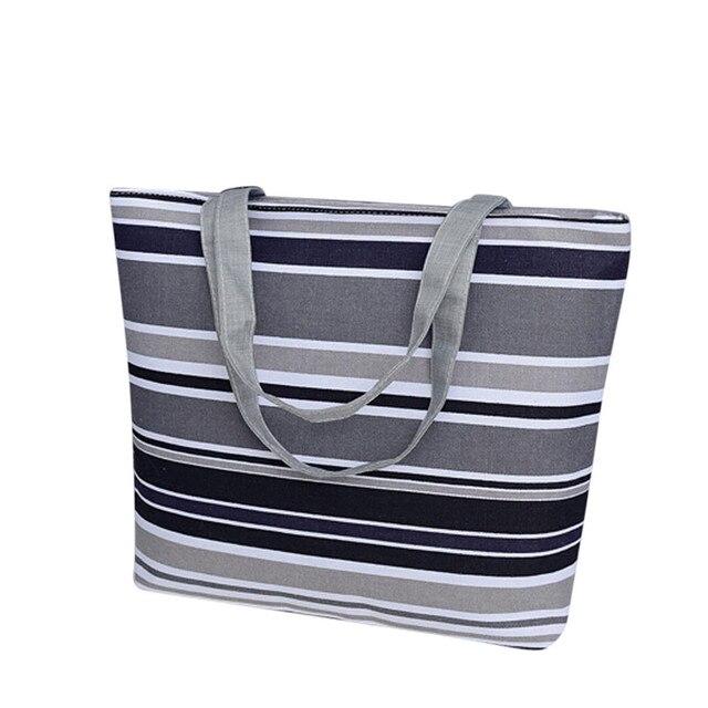 unique design woman printing canvas shopping bag girls hotsale