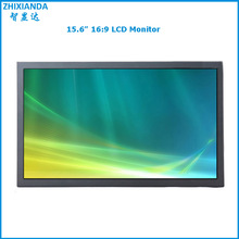 15.6 inch metal case open frame lcd monitor with resolution 1366*768