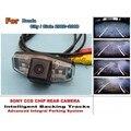 Para honda city 2002 ~ 2008/para honda civic 2001 ~ 2014 faixas inteligentes câmera chip ccd hd inteligente dinâmica de câmera de visão traseira