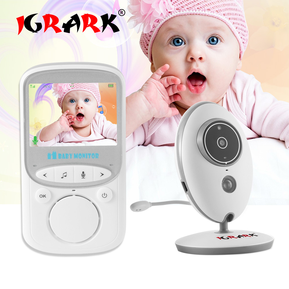 Wireless Video Electronic Baby Monitor 2.4 Inch Color Security Camera 2 Way Talk Night Vision LED Portable Baby MonitorsWireless Video Electronic Baby Monitor 2.4 Inch Color Security Camera 2 Way Talk Night Vision LED Portable Baby Monitors