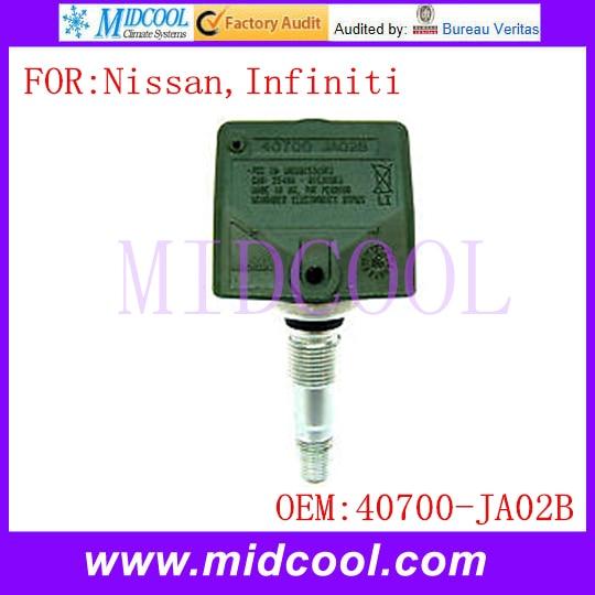 New Tire Pressure Monitor Sensor TPMS use OE NO. 40700-JA02B for Nissan Infiniti