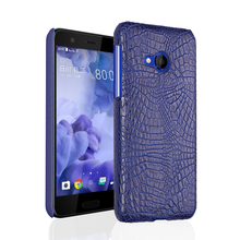 For HTC U Play Case 5.2inch UPlay Luxury TPU Soft Crocodile Skin Cover Phone Bag Cases