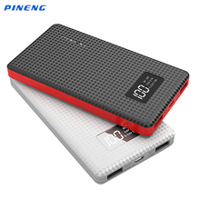 PINENG 6000mAh External Battery Bank PN960 Portable Charger 6000mAh Thin Power Bank Quick Charging for Samsung S6 Xiaomi5 Mobile