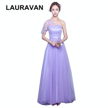 robe soiree women long female formal one shoulder bridesmaid gowns girl  party puffy dress ladies tulle ball gown elegant designs 36af53feb591