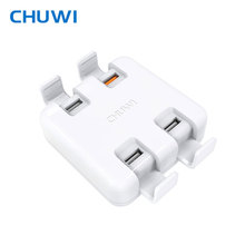 CHUWI Hi-DOCK Desktop Universal Charger Charger 4-Ports Charger Bracket 2 in 1 Quick Charge 3.0 for tablet Phone