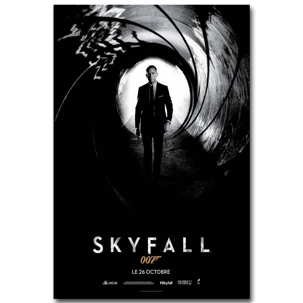The James Bond 007 Hot Movie Art Silk Canvas Poster 13x20 24x36 inch