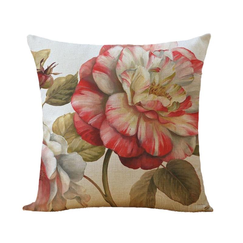 Fleurs longues vintage housses de coussin taies d/'oreiller ou maison intérieur