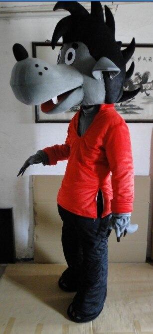 Costume de mascotte, et ainsi de suite la mascotte dans le grand méchant Loup costume de mascotte anime afficher livraison gratuite