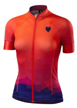 2016  Pro Women's Cycling Clothing Bike Sportwear Girl Bicycle Jersey Top Breathable