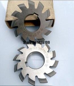 Image 4 - 8 Uds. NO.1 NO.8 herramientas de corte de engranaje de acero rápido, M0.4, M0.5, M0.6, M0.7, M0.8, M1, M1.25, M1.5, M2, M3, M4, Modulus PA20 grados