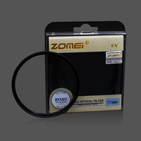 Premium Original Zomei 77mm Lens UV Filter For Samsung Canon EOS Nikon Fujifilm DSLR SLR Camera