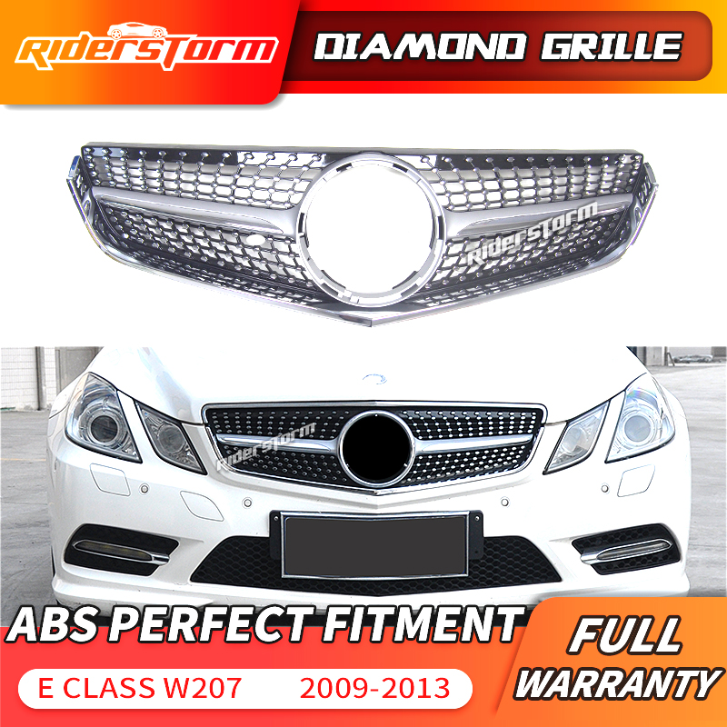 AMG Diamond GRILLE facelift Mercedes E coupe//convertible,c207 a207 w207 2013