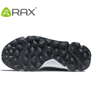 Image 5 - RAX גברים של נעלי הליכה האחרון Snowboot אנטי להחליק בטנת קטיפה אמצע גבוהה קלאסי סגנון הליכה עבור מקצועי גברים