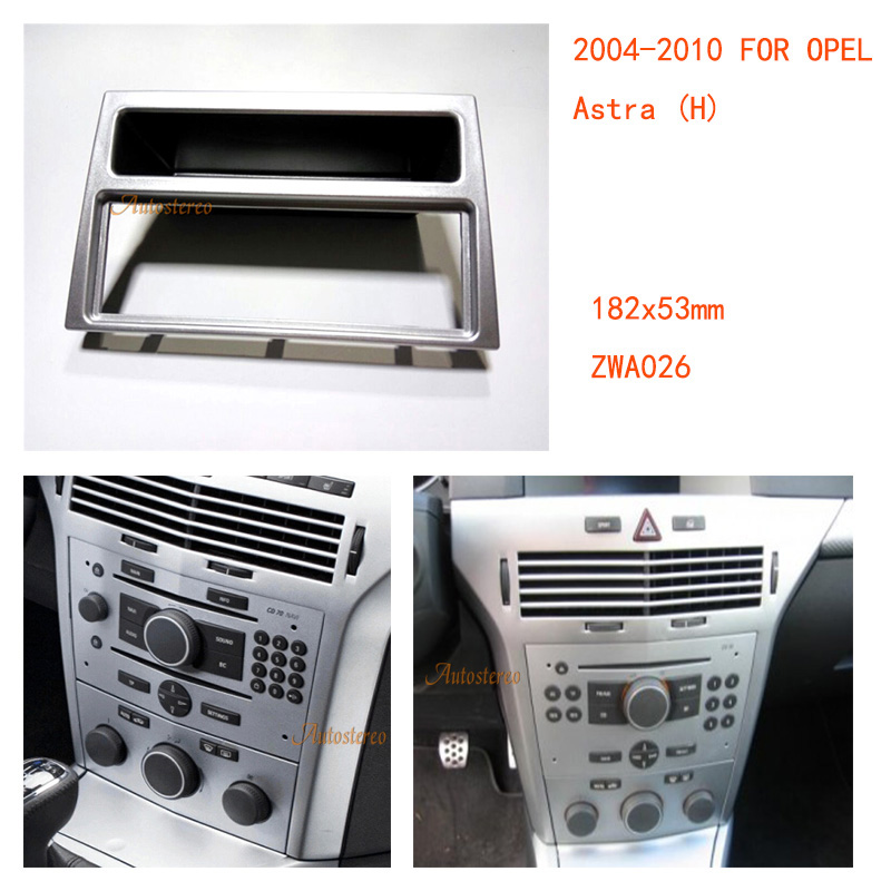 car radio facia for opel astra h daewoo winstorm gmc. Black Bedroom Furniture Sets. Home Design Ideas