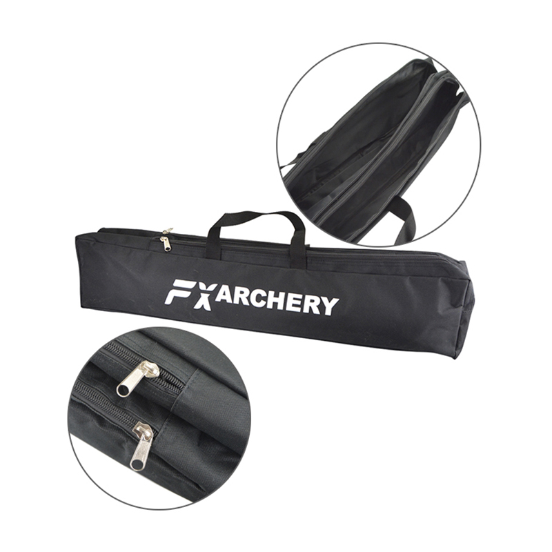 Image 5 - 1pc Archery Recurve Bow Longbow Canvas Bow Bag Double Layer Portable Protector Waterproof Handbag Hunting Shooting Accessories-in Bow & Arrow from Sports & Entertainment
