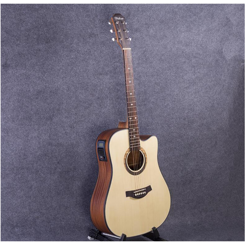 41-31 NEW 41 inch 5 EQ Electric Acoustic Guitar Rosewood Fingerboard guitarra with pickups tuner strings 41 39 new 41 inch matte paint acoustic guitar rosewood fingerboard guitarra with tuner strings