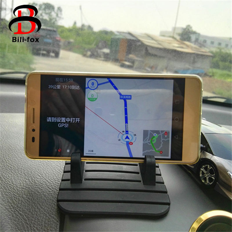 Universal font b Car b font Holder Stand Anti Skid Pad Non Slip Mat Silicon Tablet