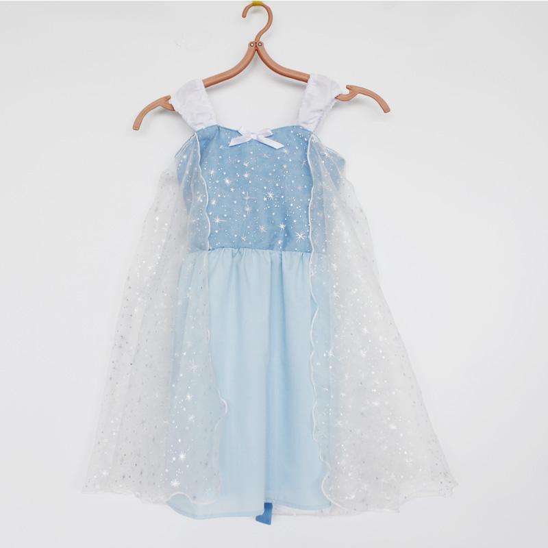 Little Girls Dress Christmas Dress Cotton for Girls Outfit Cosplay Costume Party