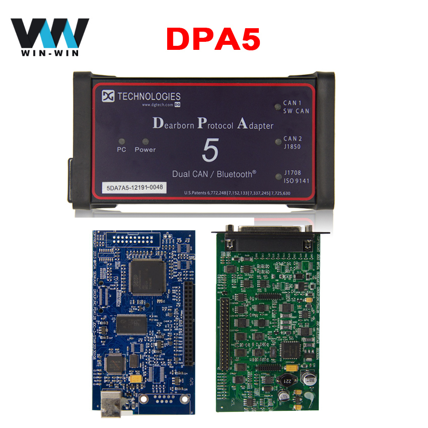 High Quality DPA5 Dearborn Protocol Adapter 5 Diesel Heavy Duty Truck Diagnostic Tool DPA 5 Same